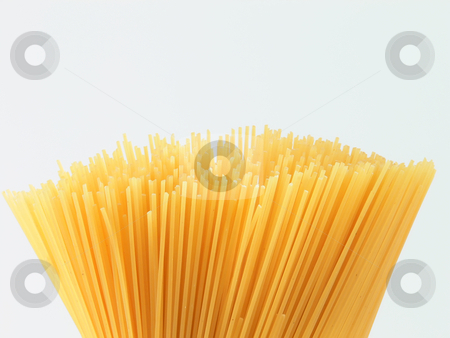 Spaghetti bunch stock photo, Close up picture of a bunch of spaghetti by Matteo Malavasi
