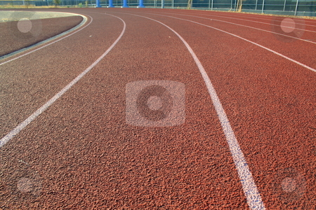 Running Track stock photo,  by Michael Felix
