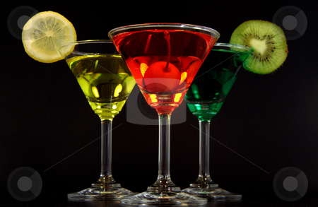 Colors martinis stock photo, Martininis de sabores by Rodrigo Reyes Marin