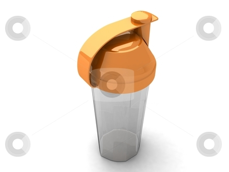 Plastic shaker stock photo, Three dimensional plastic shaker by Imagery Majestic