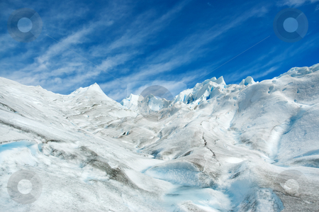 Surface of a glacier in patagonia. stock photo, Surface of Perito Moreno glacier, in patagonia, Argentina. by Pablo Caridad