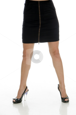 Sexy legs of lady stock photo, Sexy legs of lady with white background by Imagery Majestic