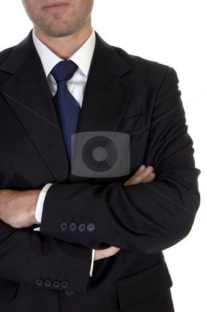 Man with folded hands stock photo, Man with folded hands on an isolated  background by Imagery Majestic
