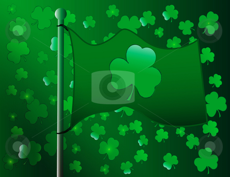 Saint Patricks day stock photo, Abstract saint patricks day celebration by R Deron