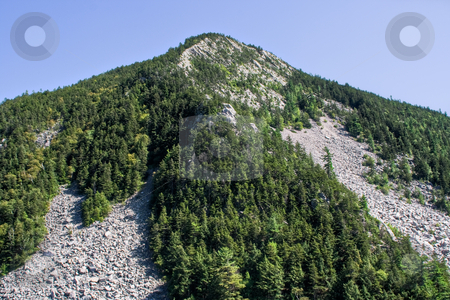 White Rock Cliffs stock photo, A mountain in Vermont known as The White Rock Cliffs by Stephen Bonk