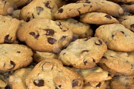 Chocolate Chip Cookies stock photo, Chocolate Chip Cookies by Stephen Bonk