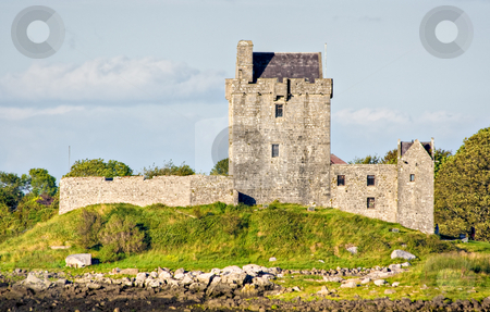 Castle in Ireland stock photo, A Castle in Ireland by Stephen Bonk