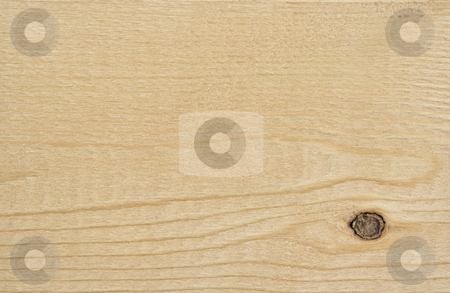 Wood Background stock photo, A wood background showing detail and texture. There is a knot in the lower left corner. by Stephen Bonk