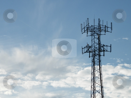 Communication Tower stock photo, Communication Tower by Dazz Lee Photography