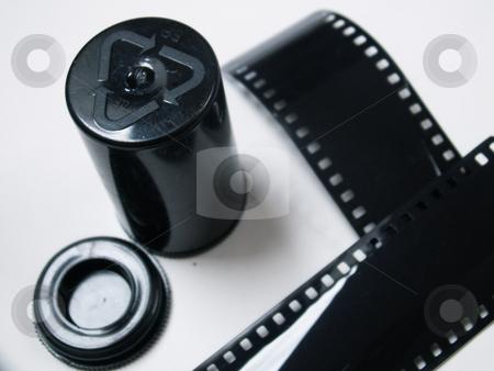 Cine-film stock photo,  by Sarka