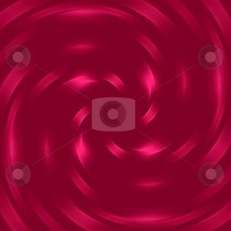 Red swirl pattern stock photo, Symmetric texture of deep red shiny swirl by Wino Evertz