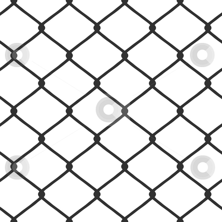Chain Link Fence stock photo, A chain link fence pattern that tiles seamlessly in any direction. by Todd Arena
