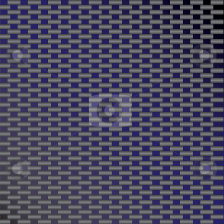 Blue Carbon Fiber stock photo, A custom carbon fiber texture in a blue tone. by Todd Arena