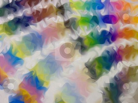 Abstract Rainbow stock photo, A swirly, rainbow background- originally an image of the pantone guide, all spread out. by Todd Arena