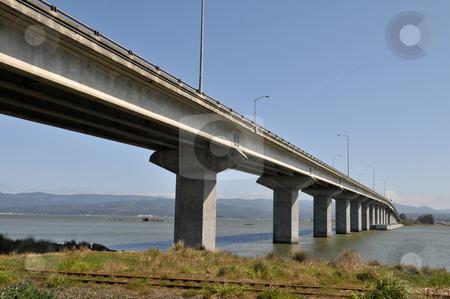 Samoa Bridge stock photo, Samoa Bridge, connecting to Eureka, California by Harris Shiffman