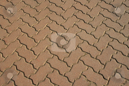Paving Stones stock photo,  by Michael Felix