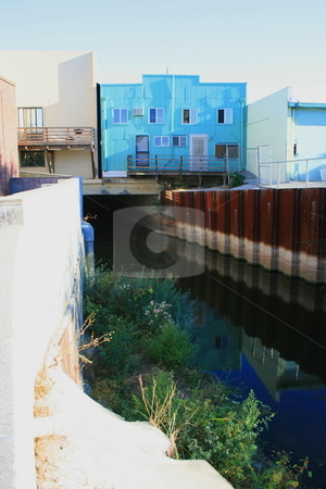 River Canal stock photo,  by Michael Felix