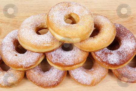 Doughnut stock photo, Fresh and warm doughnuts  as background by Jolanta Dabrowska