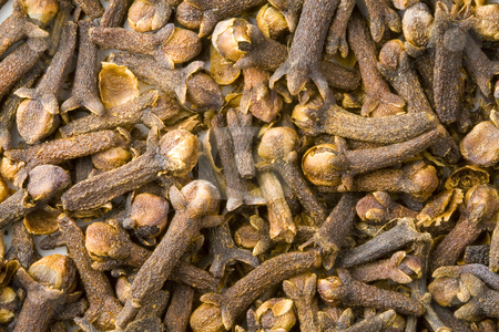 Clove stock photo, A close-up of a lot of clove (rose-apple) by Petr Koudelka