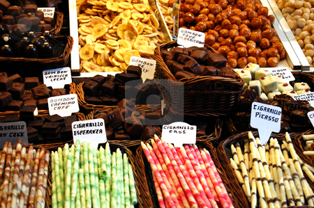 Colours of the marketplace stock photo,  by Simone Tibollo