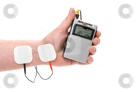 Tens Unit stock photo, A medical tens unit for the relief of acute pain. by Robert Byron
