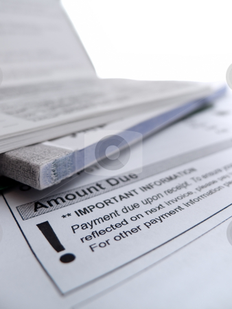 Paying the bills stock photo, Paying the bills by Kevin Woodrow