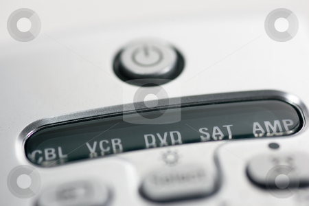 Remote Control Closeup stock photo, Remote Control Closeup by Kevin Woodrow