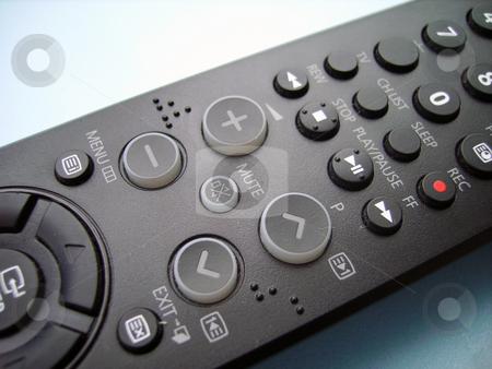 Remote Control stock photo, Television remote control isolated. For web by Tudor Antonel adrian