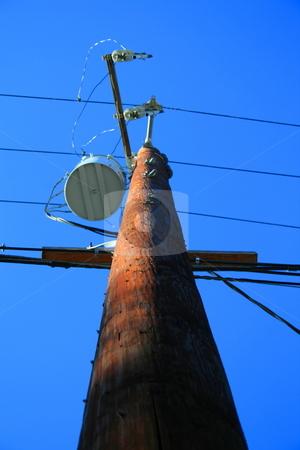 Telephone Pole  stock photo,  by Michael Felix