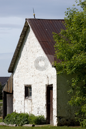Humble Abode stock photo, An old run-down cottage. by Kevin Woodrow