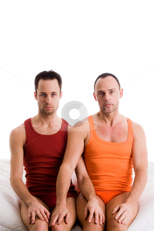 His knee is mine stock photo, An insight into a happy homo couples relationship by Frenk and Danielle Kaufmann