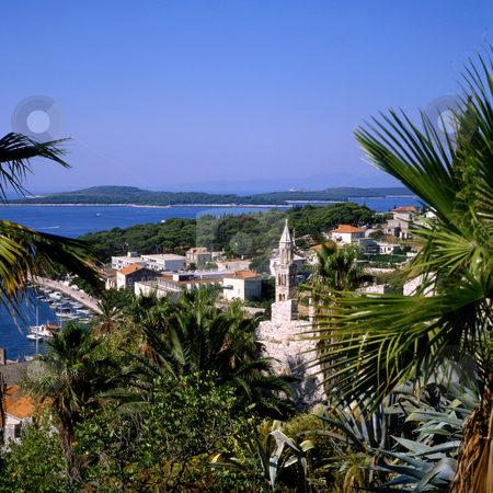 Hvar stock photo, Hvar island, part of Croatia by Paul Phillips