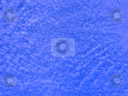 Blue sky background stock photo, Blue sky with cloud waves background abstract by Julija Sapic