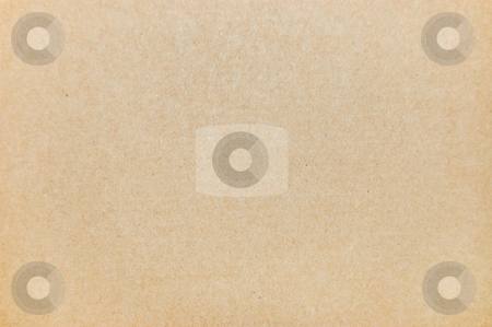 Textured paper stock photo, Plain brown textured paper by Peter Cox