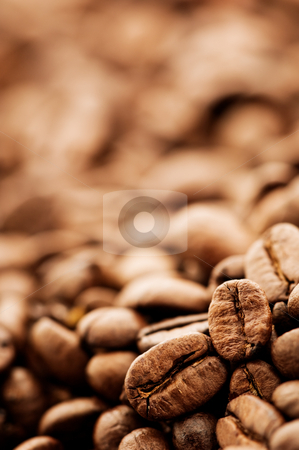 Coffee beans stock photo, Coffee beans by Tommy Maenhout