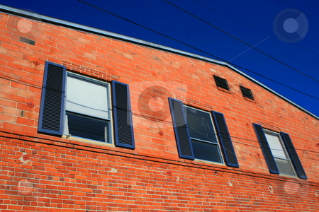 Building Windows stock photo,  by Michael Felix