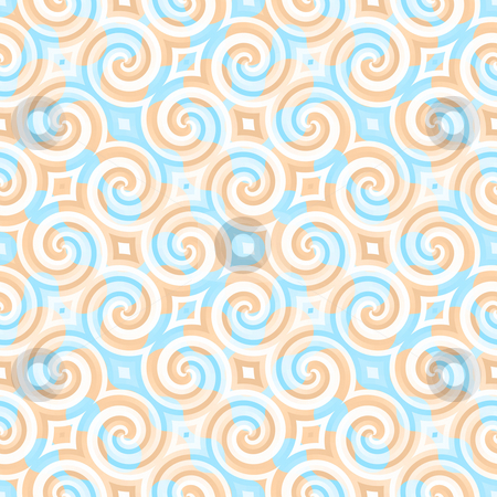 Vintage Wallpaper stock photo, A vintage wallpaper texture that tiles seamlessly as a pattern. by Todd Arena