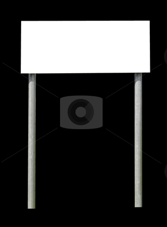 Info sign on black stock photo, Information sign isolated on black by Magnus Johansson