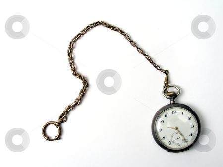 Old pocket watch stock photo, Old pocket watch. by Ingvar Bjork