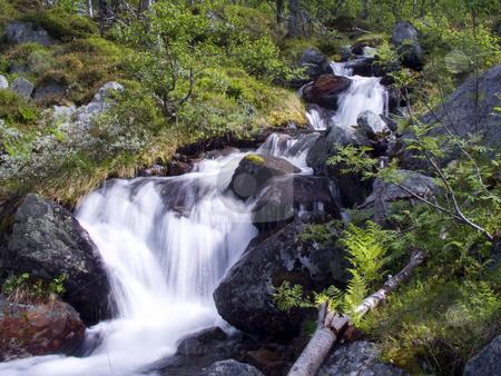 Mountain Stream stock photo, Mountain Stream by Ingvar Bjork