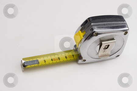 Tape-measure stock photo, Tape-measureby by Ingvar Bjork