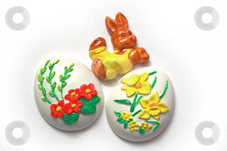 Easter stock photo, Easter with eggs, photographed in march 2009 by Manuela Schueler