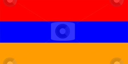 Armenia Flag stock photo, 2D illustration of the flag of Armenia vector by Tudor Antonel adrian