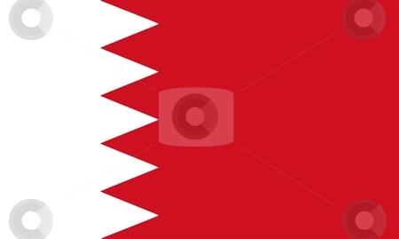 Bahrain Flag stock photo, 2D illustration of the flag of Bahrain vector by Tudor Antonel adrian