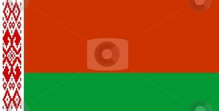 Flag Of Belarus stock photo, 2D illustration of the flag of Belarus by Tudor Antonel adrian