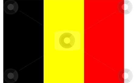Flag Of Belgium stock photo, Flag of Belgium national country symbol illustration by Tudor Antonel adrian