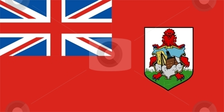 Bermuda Flag stock photo, 2D illustration of Bermuda flag color vector by Tudor Antonel adrian