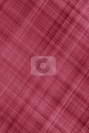 Red scratched canvas stock photo, Texture of red canvas striped with diagonal scratches by Wino Evertz