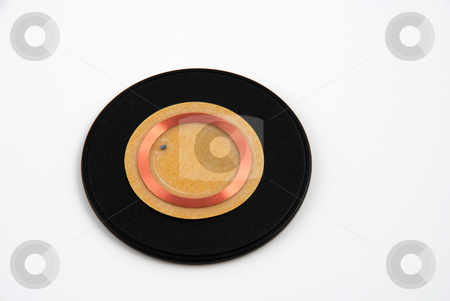 RFID tags stock photo, Stock pictures of tags and transponders used for radio frequency identification RFID access and control by Albert Lozano