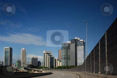 Kuala Lumpur Cityscape stock photo, Kuala Lumpur Cityscape and modern highway by Jaggat Images